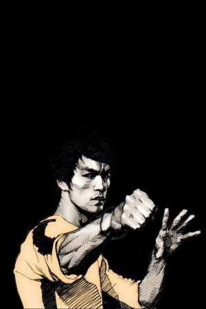 Bruce Lee quotes Mobile Wallpaper