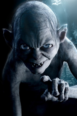 CGI Gollum Mobile Wallpaper