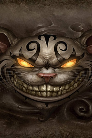 Cheshire Cat Mobile Wallpaper
