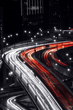 Night Bridges Mobile Wallpaper