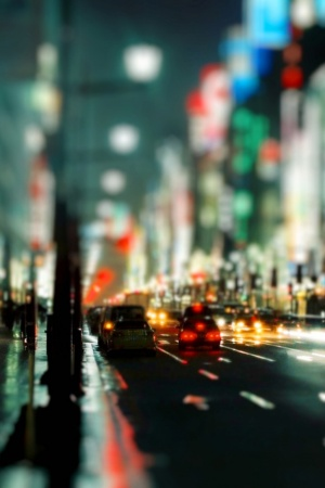 Cityscapes streets Mobile Wallpaper