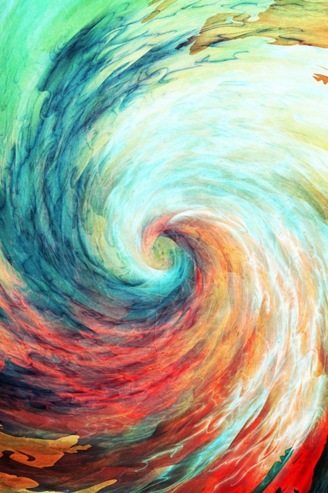Spiral Abstrait Mobile Wallpaper Mobiles Wall