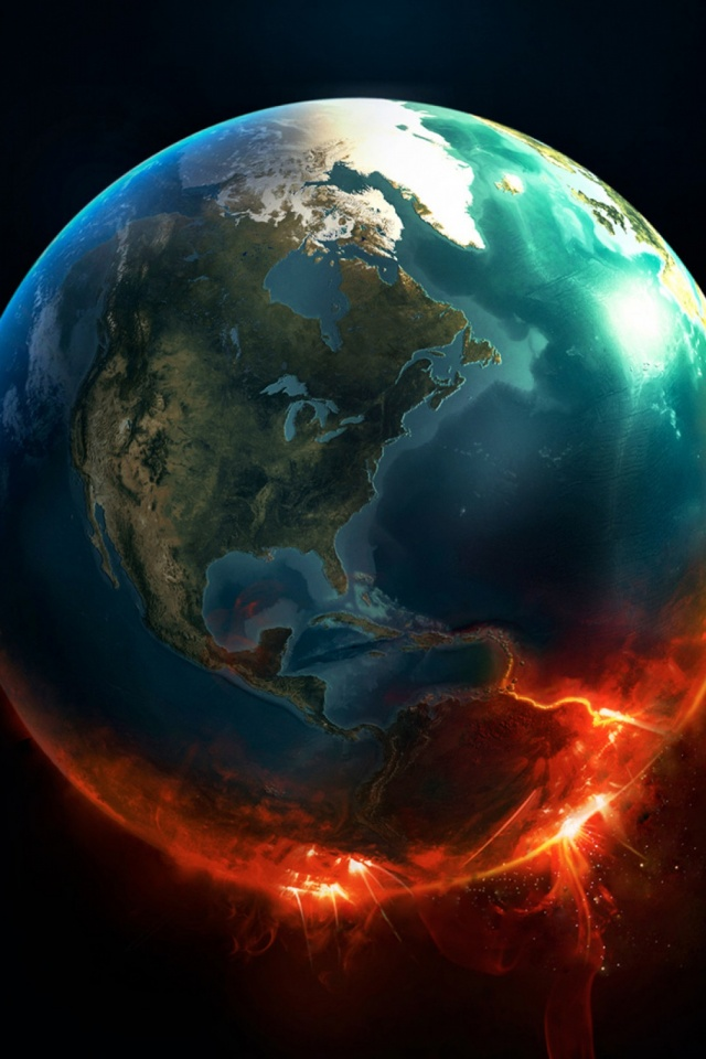 Fire Earth Nowing Mobile Wallpaper Mobiles Wall