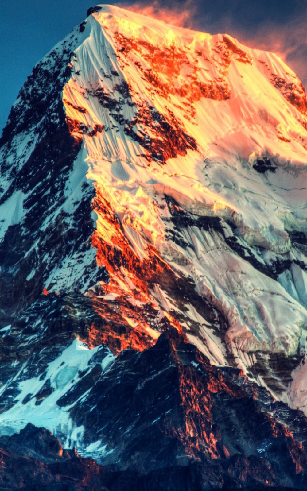 mount everest mobile wallpaper - mobiles wall