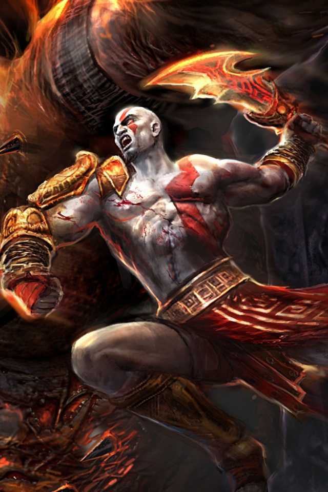 God Of War Mobile Wallpaper Mobiles Wall