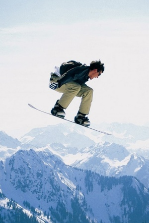 Sports Snowboarding Mobile Wallpaper