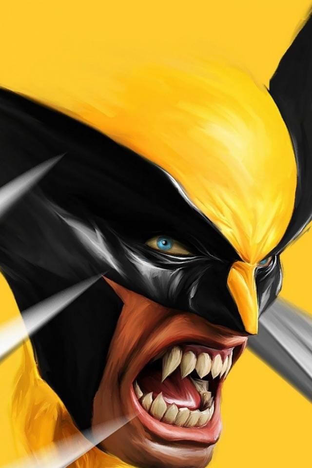 Wolverine Cartoons Mobile Wallpaper Mobiles Wall
