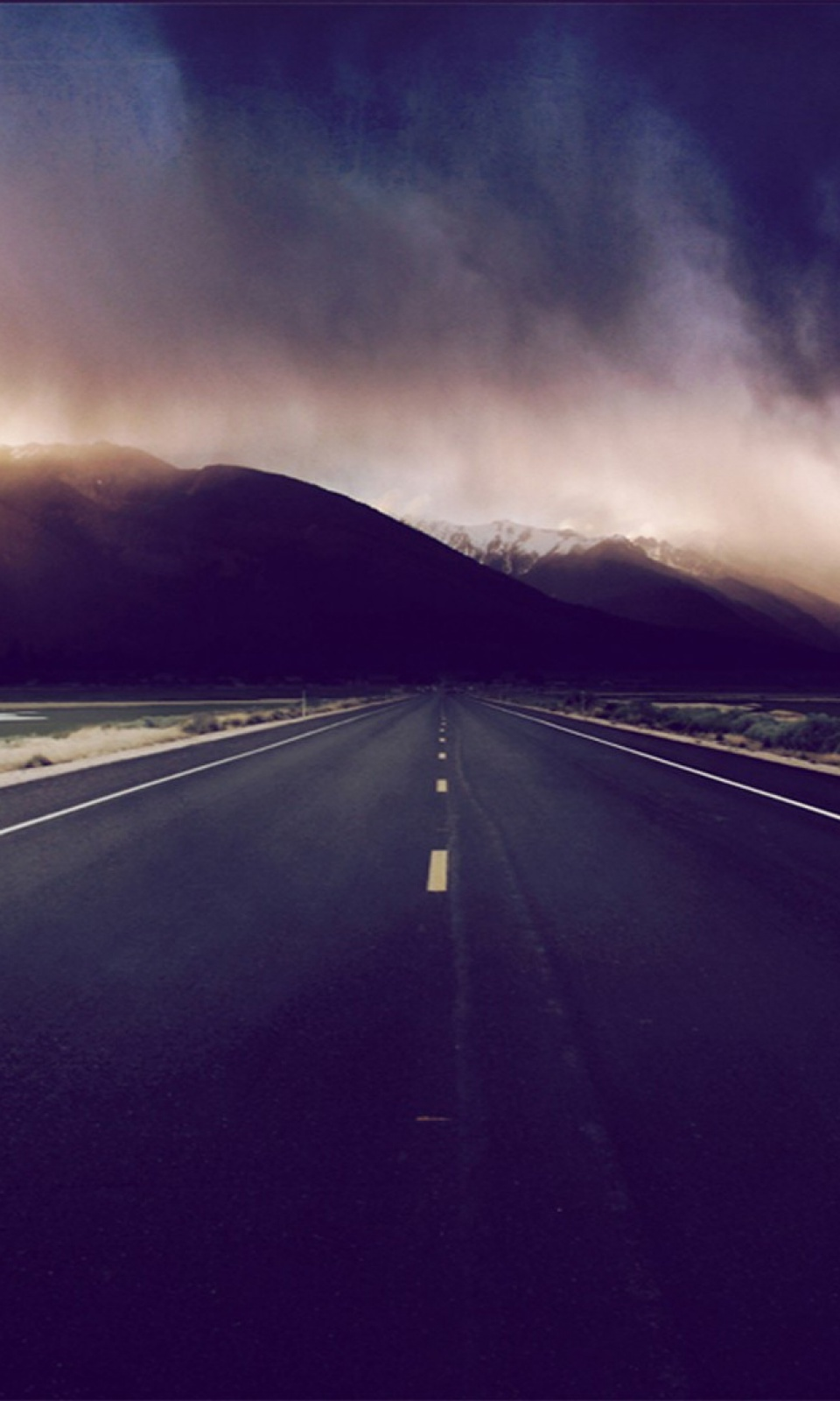 Download Wallpaper Mountain Android - 960-Clouds-Mountains-Road-l  Photograph_43727.jpg