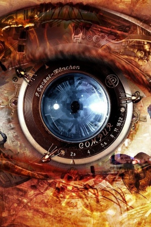 Eyes Steampunk Mobile Wallpaper