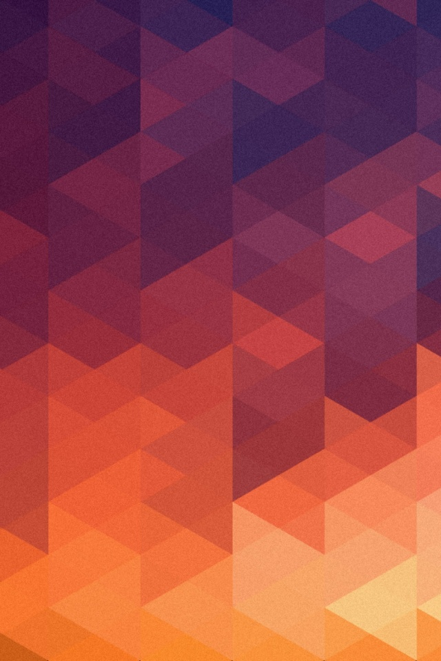 Abstract Multicolor Shapes Mobile Wallpaper