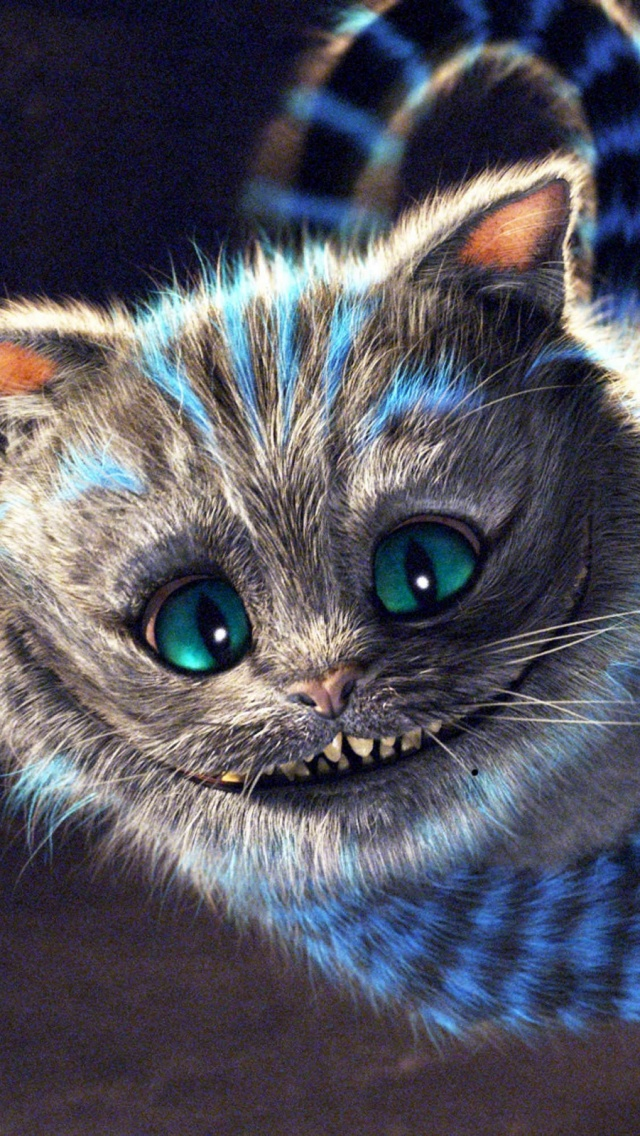 Alice In Wonderland Cheshire Cat Mobile Wallpaper Mobiles Wall