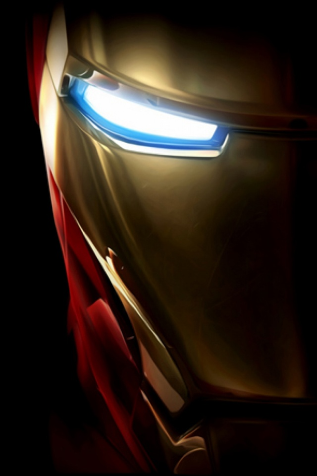 Iron Man Black Background Mobile Wallpaper Mobiles Wall