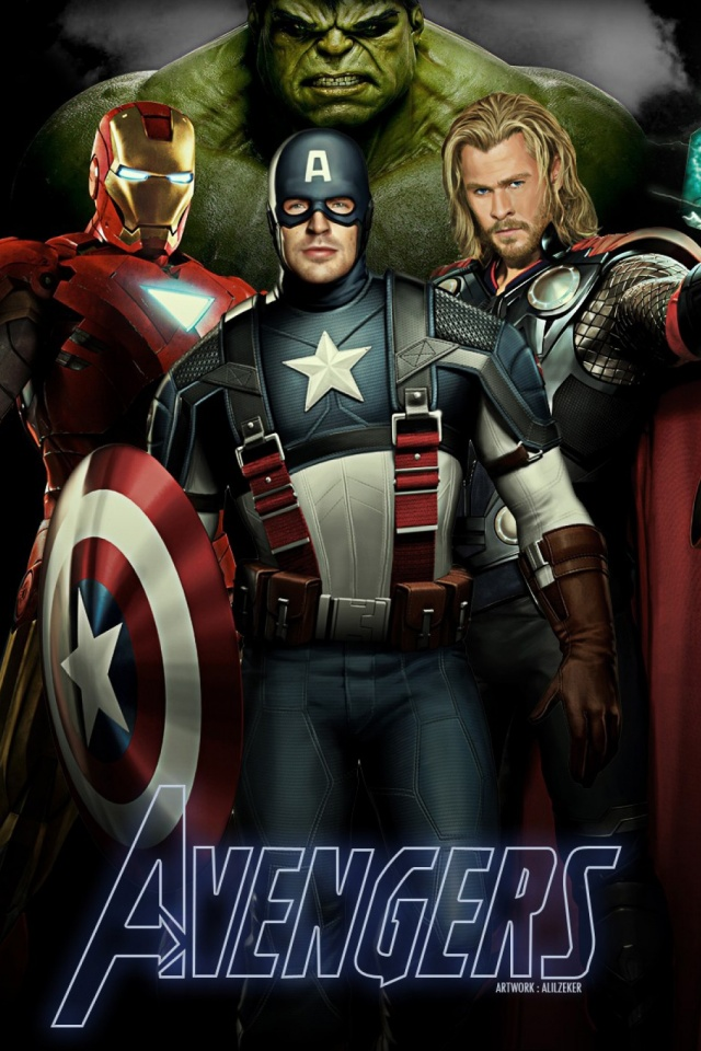 The Avengers Mobile Wallpaper Mobiles Wall