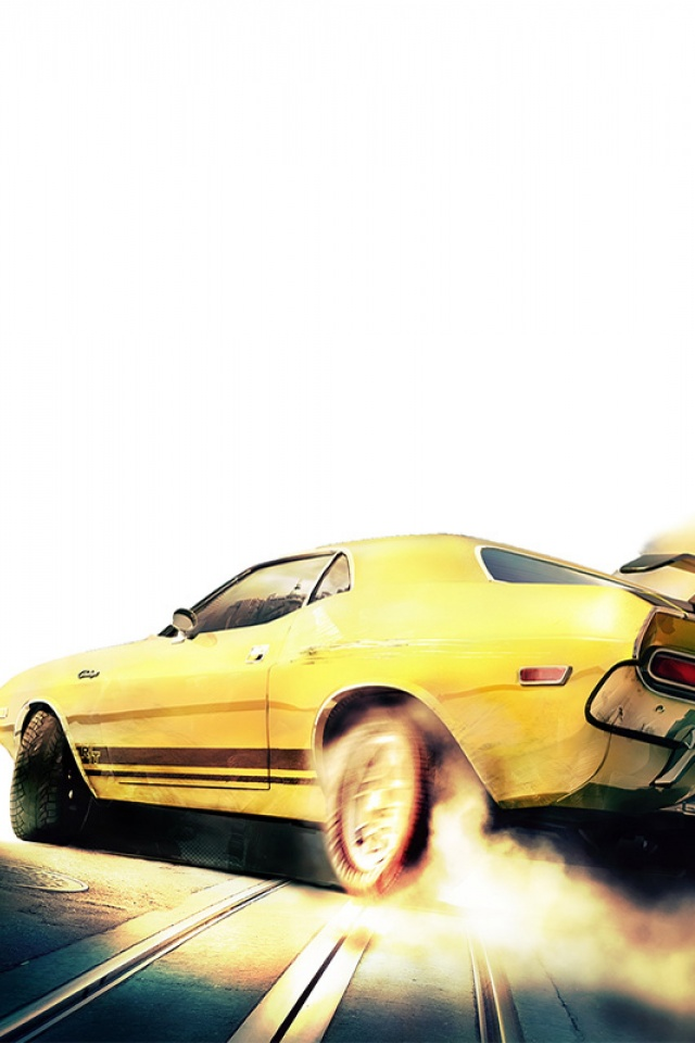 Yellow Car Mobile Wallpaper Mobiles Wall