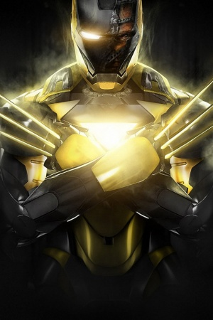 Iron Man Marvel Comics Wolverine Mobile Wallpaper