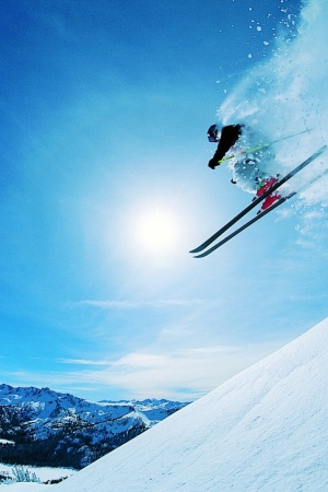 Ski Sports Mobile Wallpaper