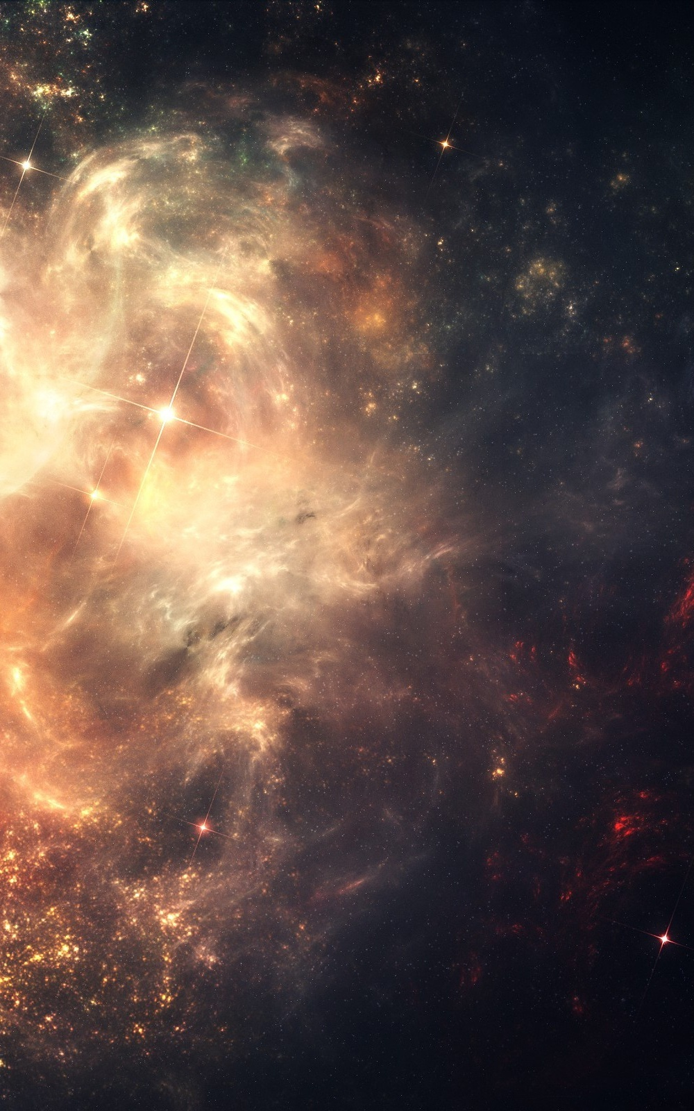 Nebulae Outer Space Mobile Wallpaper Mobiles Wall