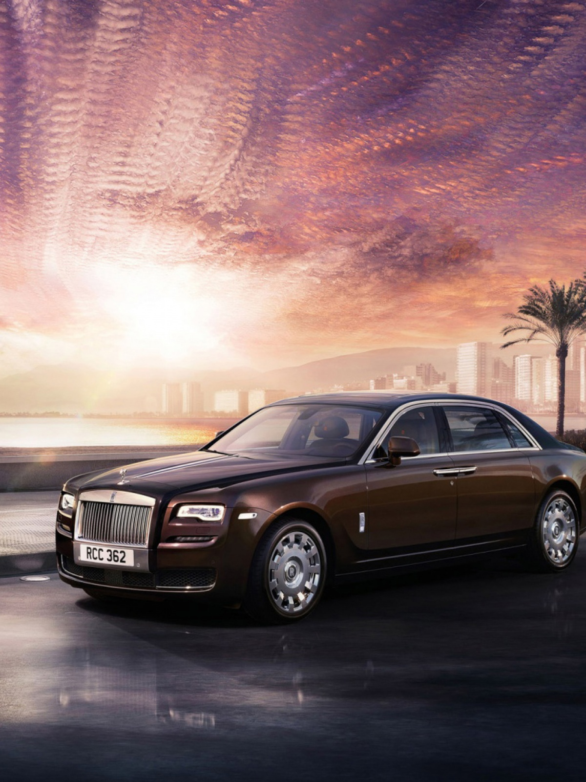 rolls royce ghost series mobile wallpaper - mobiles wall