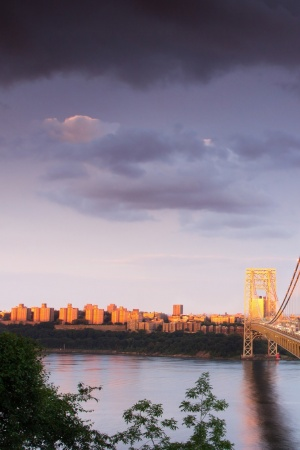 George Washington Bridge Mobile Wallpaper
