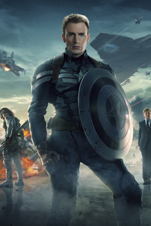 Captain America Ii Mobile Wallpaper Mobiles Wall
