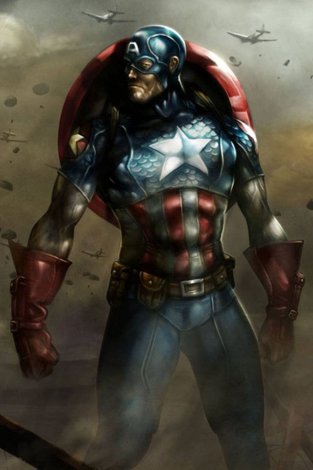 Captain America Mobile Wallpaper Mobiles Wall