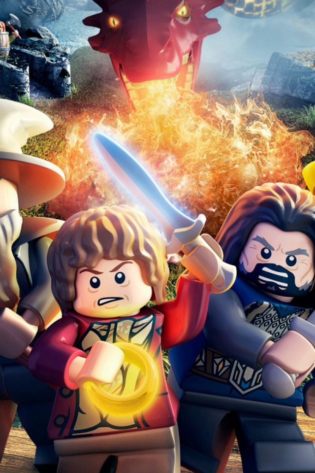 Lego The Hobbit Game Mobile Wallpaper Mobiles Wall
