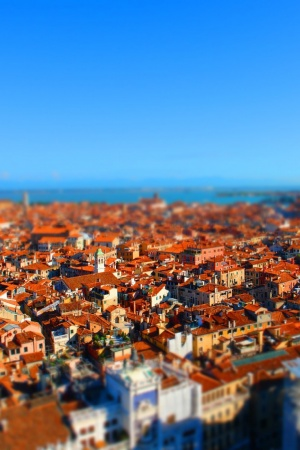 Landscapes tilt shift Mobile Wallpaper