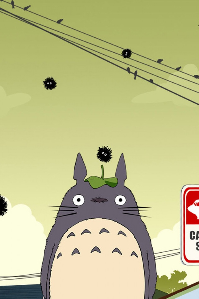 My Neighbor Totoro Mobile Wallpaper 825 Views Preview 272