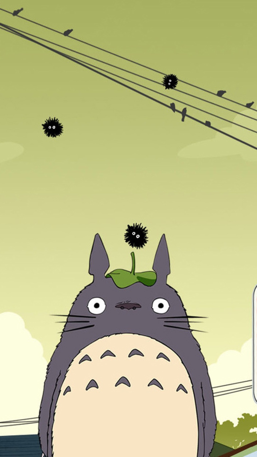 My Neighbor Totoro Mobile Wallpaper