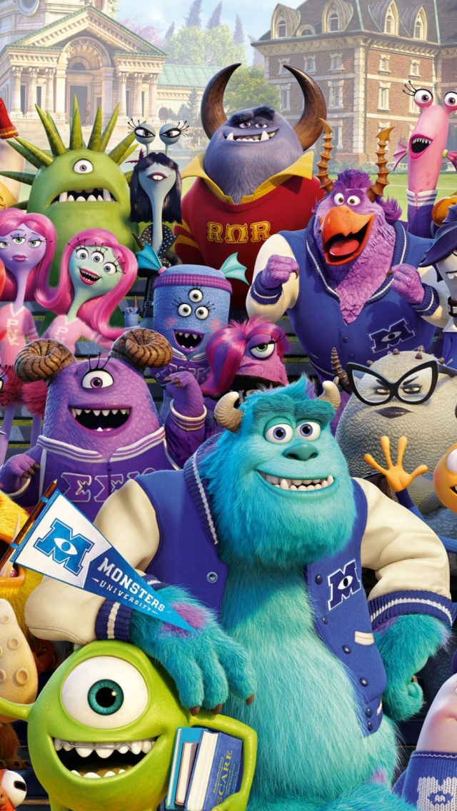 Monsters university mobile wallpaper mobiles wall download now voltagebd Images