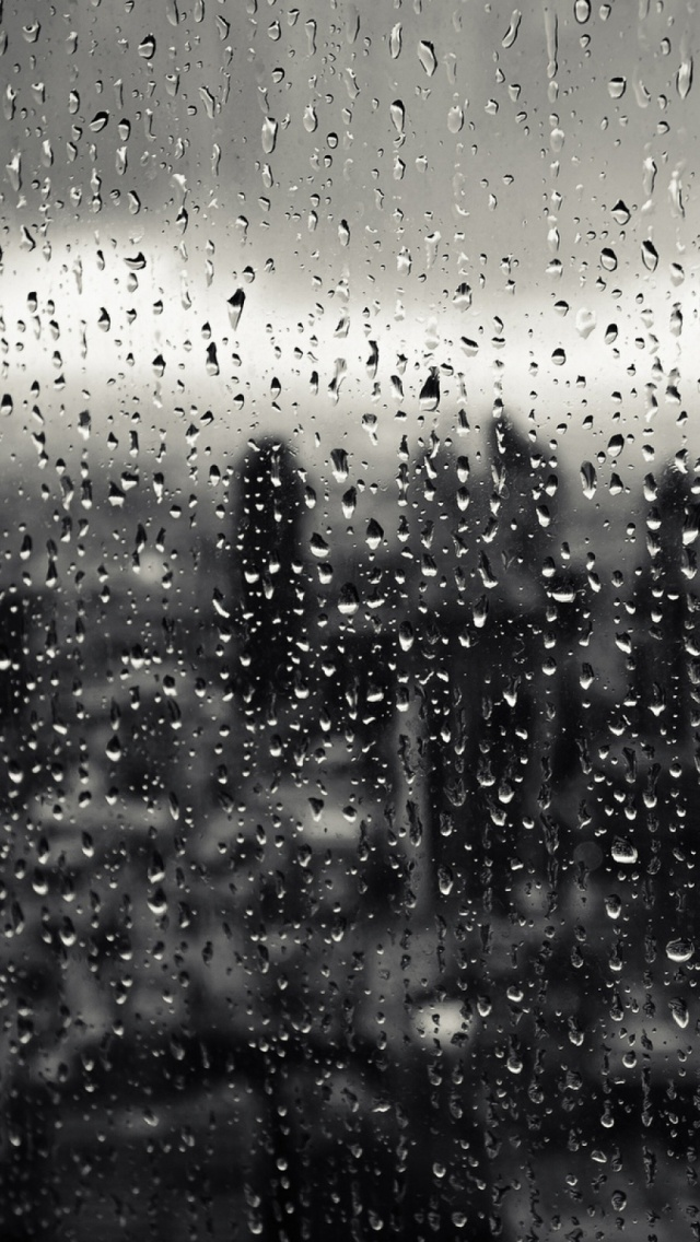 Rain Drops Hd Wallpapers For Mobile