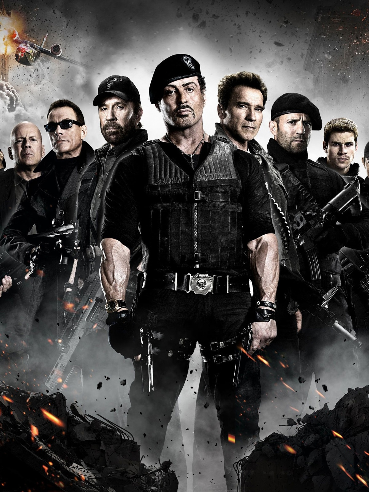 the expendables mobile wallpaper - mobiles wall