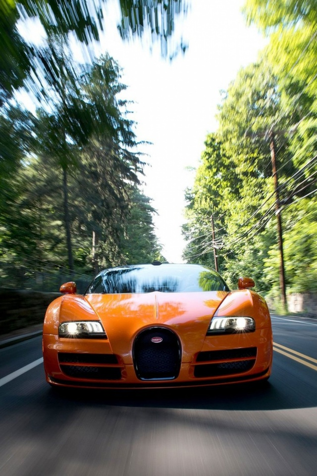 Bugatti Veyron Grand Sport Vitesse Mobile Wallpaper Mobiles Wall