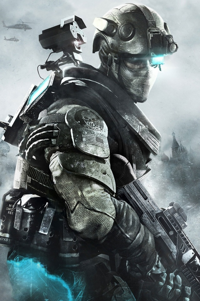 Ghost Recon Future Soldier Mobile Wallpaper - Mobiles Wall
