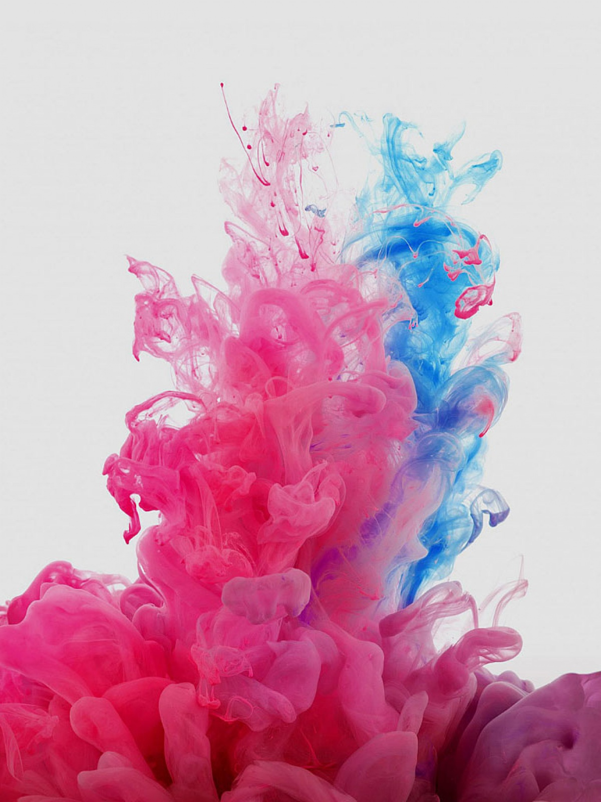Red And Blue Smoke Mobile Wallpaper Mobiles Wall