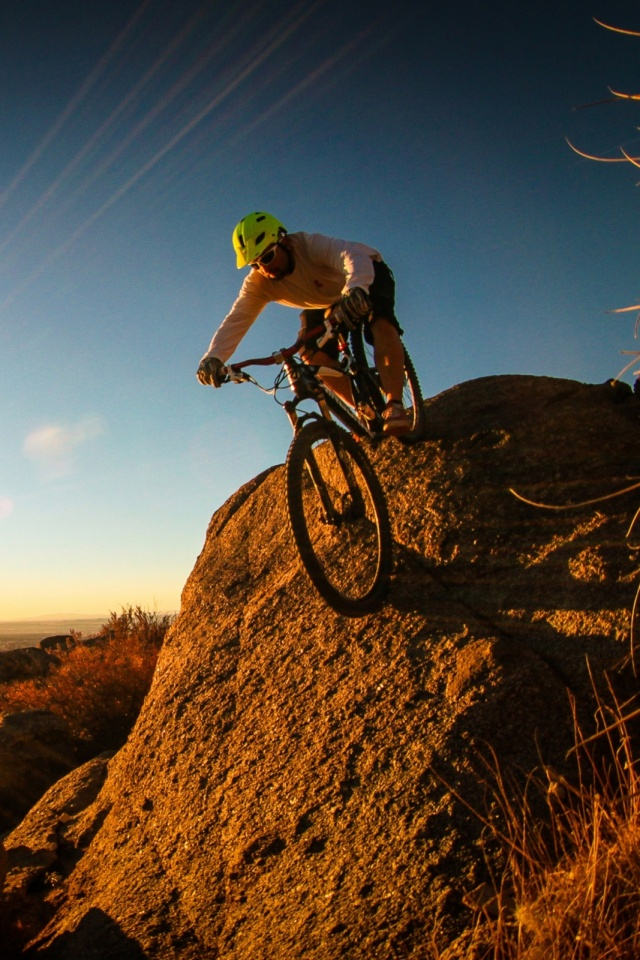 mountain bike mobile wallpaper - mobiles wall, Powerpoint templates