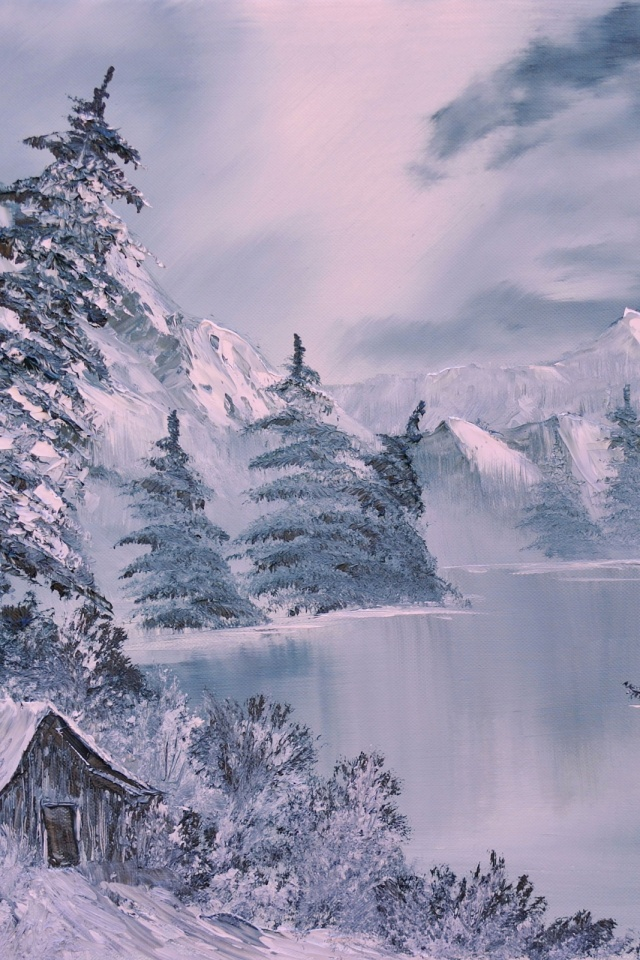 Winter Art Mobile Wallpaper Mobiles Wall