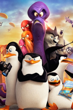 Penguins of Madagascar Mobile Wallpaper