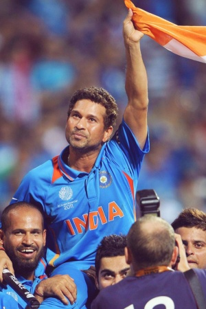 Sachin Tendulkar God of Cricket Mobile Wallpaper