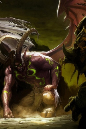World Of Warcraft Online Game Mobile Wallpaper