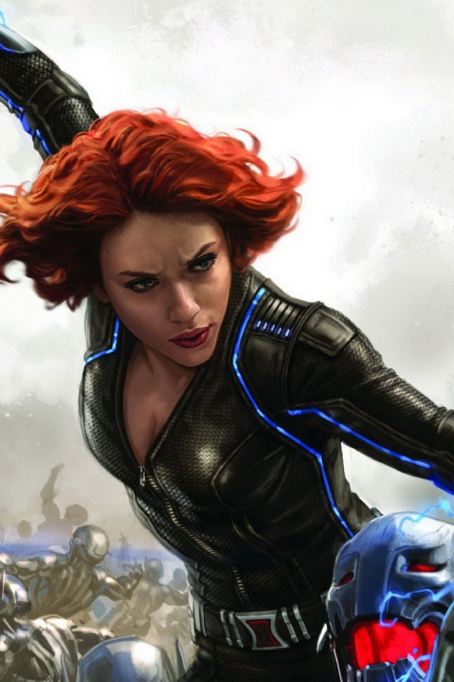 Black Widow Mobile Wallpaper Mobiles Wall