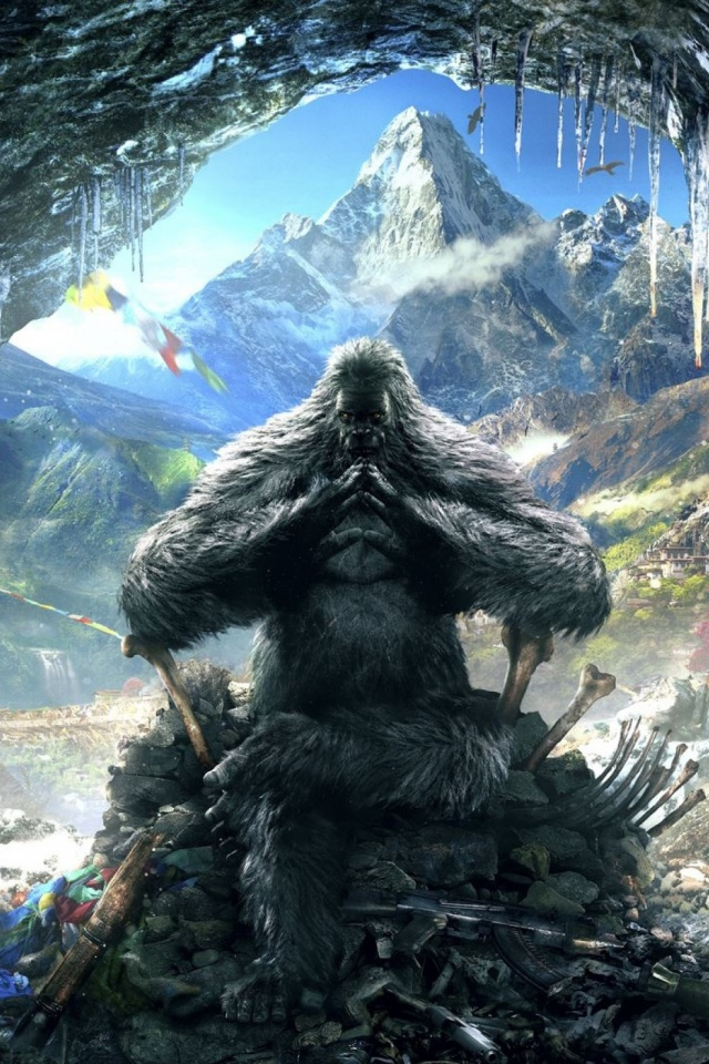 Far Cry 4 Yeti Mobile Wallpaper Mobiles Wall