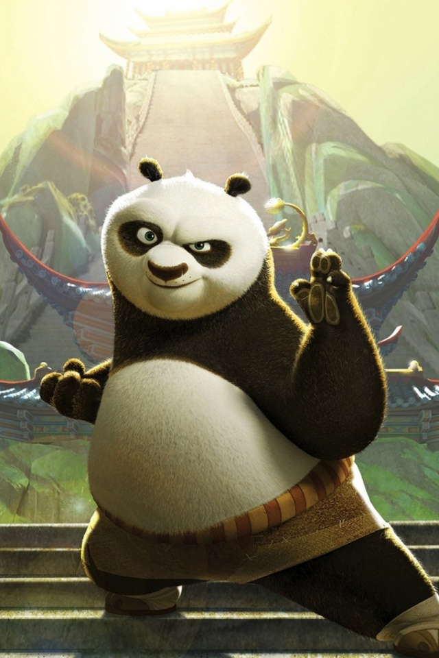 Kung Fu Panda Mobile Wallpaper