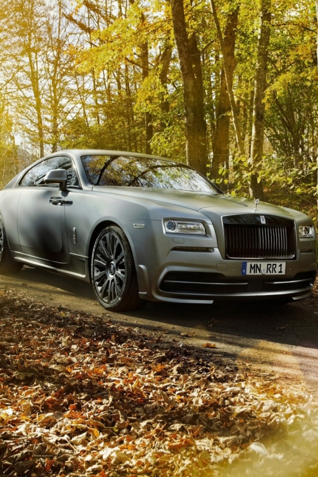 Spofec Rolls Royce Wraith 2014 Mobile Wallpaper Mobiles Wall