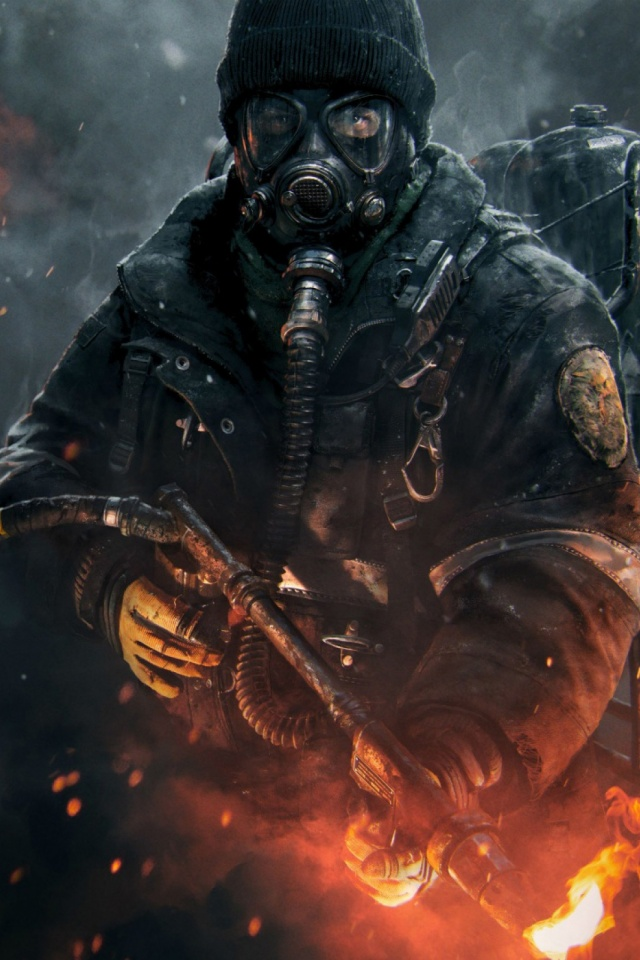 Tom Clancys The Division Mobile Wallpaper Mobiles Wall