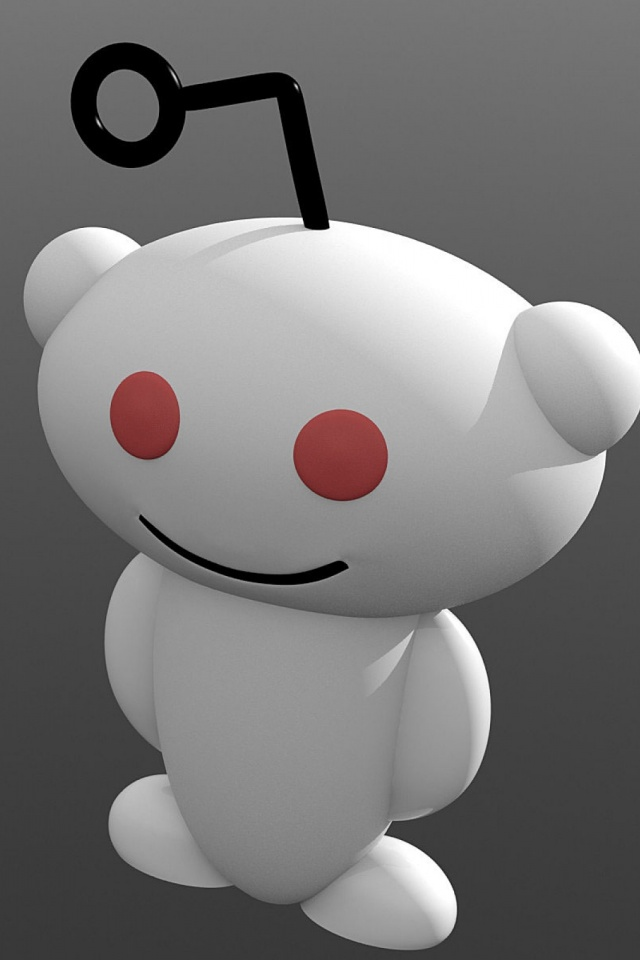 3D Reddit Alien Avatar Mobile Wallpaper
