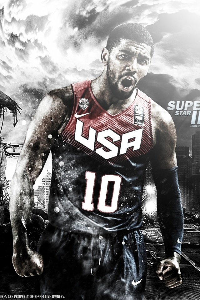 Kyrie Irving Mobile Wallpaper
