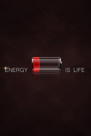 Energy is Life Mobile Wallpaper