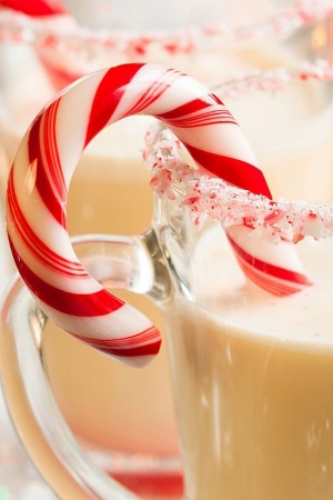 Milk candy christmas winter Mobile Wallpaper