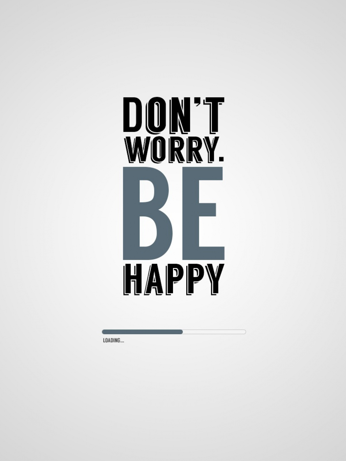Dont Worry Be Happy Mobile Wallpaper